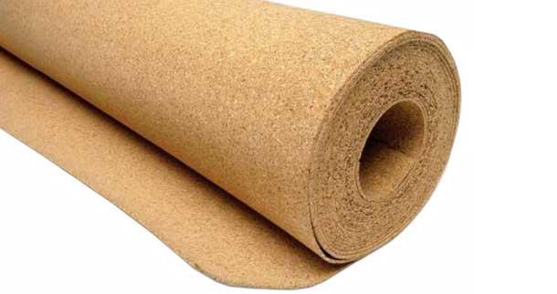 pannelli isolanti cork rolls